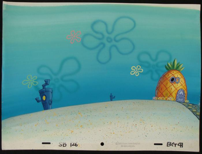 That interrupt Bikini bottom backgrounds simply matchless