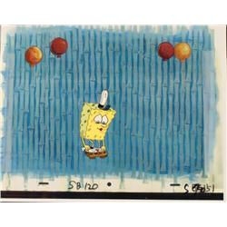 Balloons Original SpongeBob Animation Cel Background