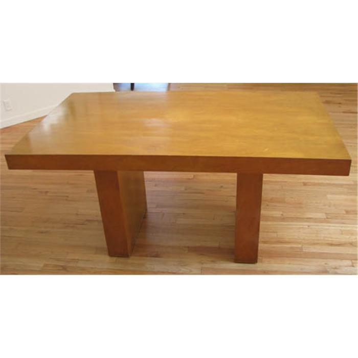 Modern Blonde Wood Dining Table : 94469361 from www.icollector.com size 700 x 700 jpeg 27kB