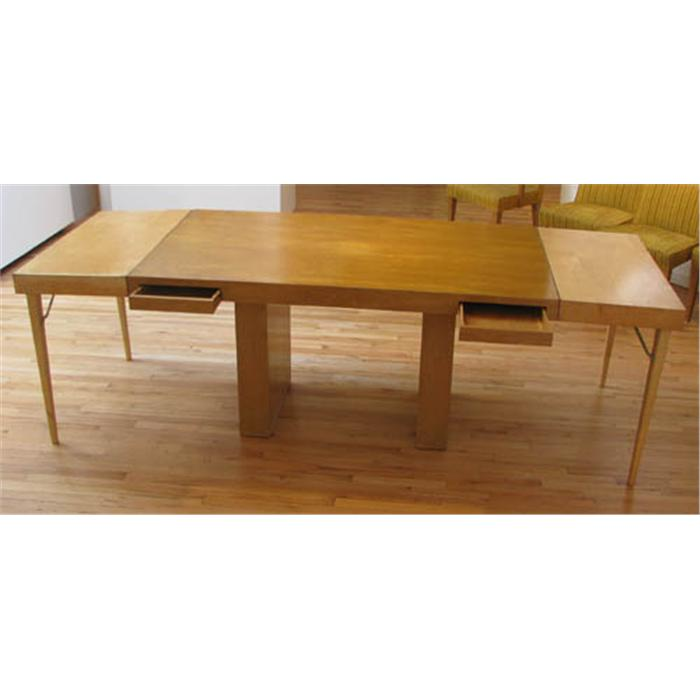 Modern Blonde Wood Dining Table : 94469366 from www.icollector.com size 700 x 700 jpeg 29kB