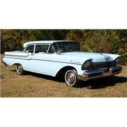 1957 MERCURY MONTEREY 2 DOOR POST