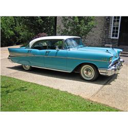 1957 CHEVY BEL AIR 4 DOOR HARD TOP