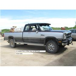 1993 Dodge Cummins 4X4 http://www.liveauctionworld.com/1993-Dodge-250-4x4-Cummins_i9546827