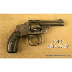 "SMITH & WESSON Model 1 ½, # 242530, .32 S&W cal.,  3"" barrel, blued finish, hard rubber grips.   Pis"