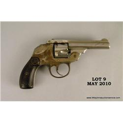 "IVER JOHNSON Safety Automatic double action  hammerless revolver, # B32822, .32 cal., 3""  barrel, ni"
