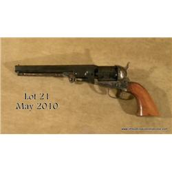 "NAVY ARMS reproduction of a Colt '51 Navy, # 5458,  .36 cal., 7.5"" octagon barrel, color case  harde"