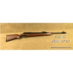 "German-made RWS Diana Model 48 T-01 air rifle,  5.5mm cal., 20"" barrel, blue finish, wood stock,  #0"