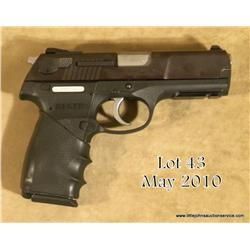 "Ruger Model P345 DA semi-auto pistol, .45 cal., 4""  barrel, blue finish, loaded chamber indicator,"