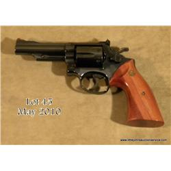 "Smith & Wesson Model 19-3 DA revolver Texas Ranger  Commemorative, .357 Magnum cal., 4"" barrel, blue"