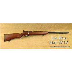 "Marlin Model 81 DL bolt-action rifle, .22 short,  long and long rifle cal., 24"" round barrel, blue"