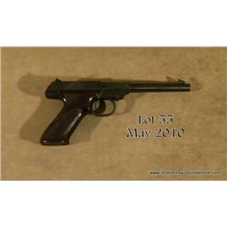 HI STANDARD M-101 Dura-Matic, # 619065, .22LR.,  6.5  barrel, blued finish, nylon stocks.  Pistol  i