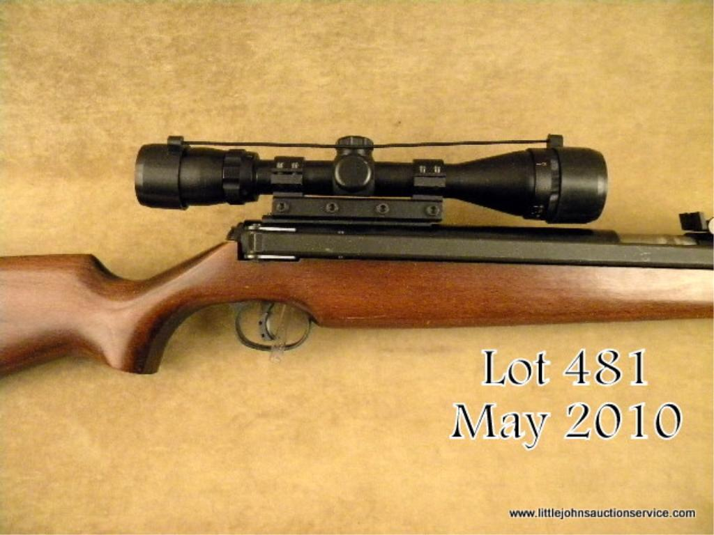 RWS DIANA 48/52 5.5mm/22 CAL w/SCOPE For Sale at GunAuction.com ...