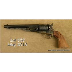 Italian-made for Lyman Products copy of a Colt  Model 1860 percussion Army revolver, .44 cal.,  7-3/