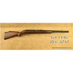 "Springfield Savage Model 187 Series A semi-auto  rifle, .22LR cal., 20"" barrel, black finish, wood"