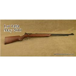 "Remington Model 341-P bolt-action rifle, .22  Short, Long or LR cal., 24"" round barrel, blue  finish"