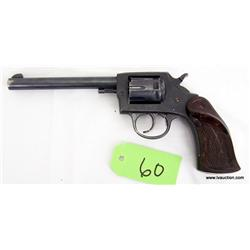 Iver Johnson Target Model 55A .22 D-Actn Revolver