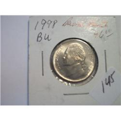 1998 JEFFERSON NICKEL