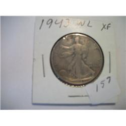 1943 WALKING LIBERTY