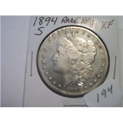 1894-S MORGAN DOLLAR