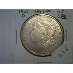 "1921-D ""MORGAN DOLLAR"