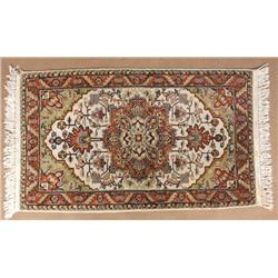 Handwoven India Wool Rug