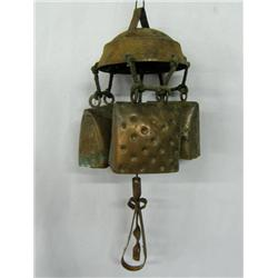 Vintage Copper Wind Chime