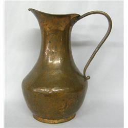Hand Hammered Copper Pitcher