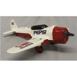 Model Metal Airplane With Pepsi Logo