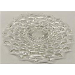 Fostoria Glass Plate