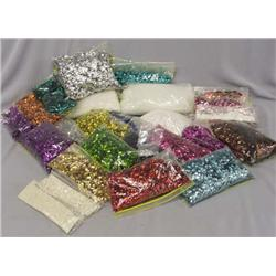 Large Collection Pearl Beads, Sequins for Jewelry
