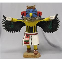 1960-1970s Hopi Eagle Dancer Kachina Kwahu