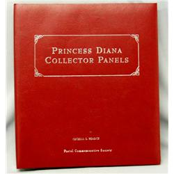 Princess Diana Collector Stamp Panels