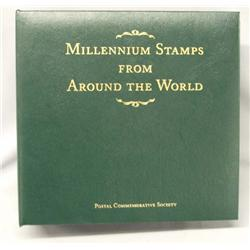100 Millennium Stamps From Around The World