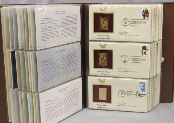 Gold Replica Stamps Replicas of us Stamps 22kt