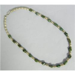 Santo Domingo Turquoise Necklace By A Martinez