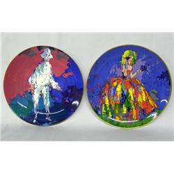 2 Royal Doulton Plates By LeRoy Neiman
