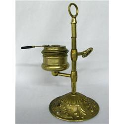 Antique Brass Student Oil Lamp