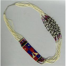 Apache 10 Strand Loom Bead Necklace