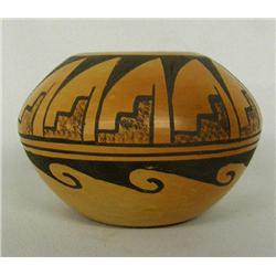 Hopi Miniature Bowl Signed by Verna Nahee