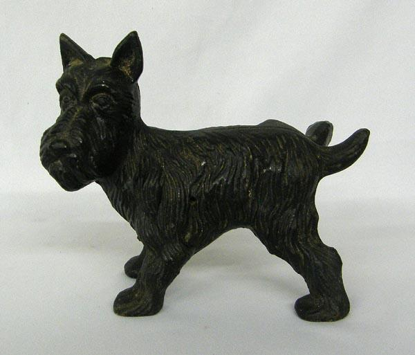 Cast iron scottie dog doorstop - Cast iron dog doorstop ...