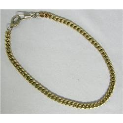 14Kt Rolled Gold Plate Estate Watch Chain