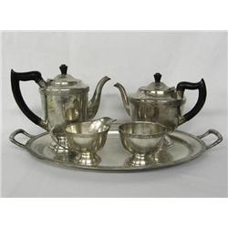 Antique EPNS Sheffield English Tea&Coffee Service