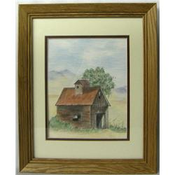 Original Framed Pastel Painting by J Dearborn
