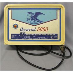 Universal 5000 Electric Fence Controller 115 Volt