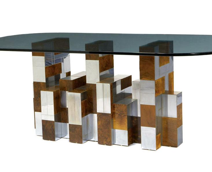 Merveilleux Paul Evans   Cityscape Dining Table. Loading Zoom
