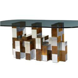 Paul Evans -  Cityscape  dining table