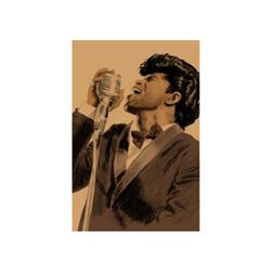 Artist: Clifford Faust; James Brown; Limited Edition Giclee; Pencil Signed