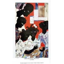 Artist: James Denmark; 1954- One Room, One Book (50th Ann. Of Brown vs. Board of Education)