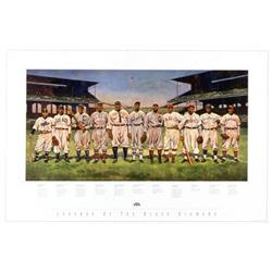 Artist: Jeffrey Suntala; Legends of the Black Diamond; Negro League Baseball