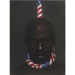 Artist: Laurie Cooper; Black Man in America; Signed Limited Edition of 1200